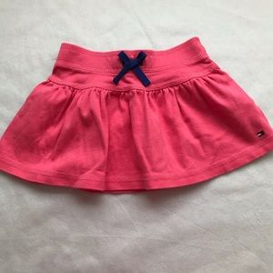 TOMMY HILFIGER pink skirt with bow